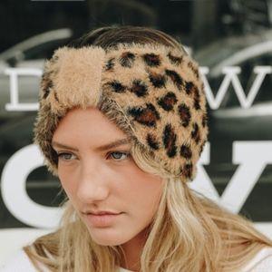 YYETTE leopard Print Headband